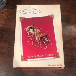 "Hallmark ""Santa's Magic Sleigh"" Ornament"